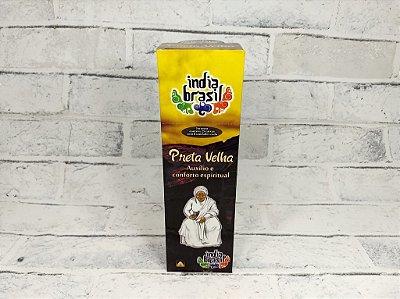Incenso Índia Brasil PRETA VELHA 25 Caixinhas 200 Varetas