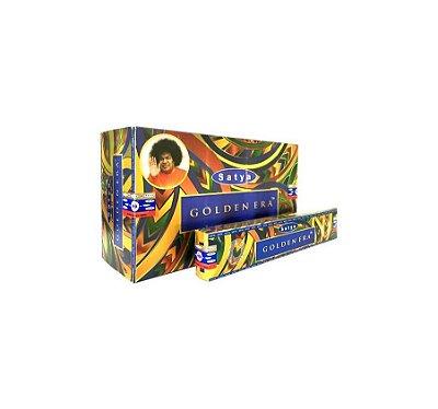 Incenso Massala Satya Golden Era Pacote Com 10 Caixas De 15g