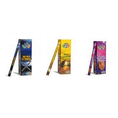 Super Kit de Incensos Contra o Mau Com 600 Varetas + Bônus Incensário Bambu
