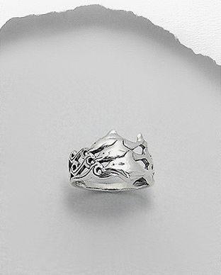 anel de prata golfinhos