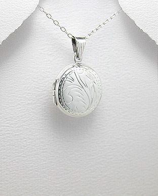 pingente de prata cofre