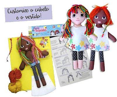 Kit Boneca Maria Chiquinha