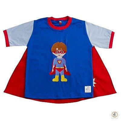 Camiseta de Capa Super Heróis