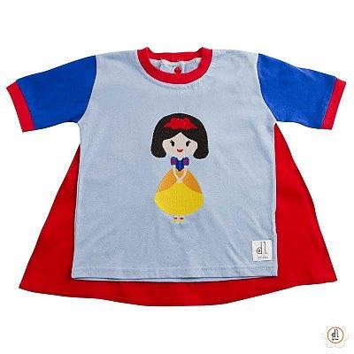 Camiseta de Capa Princesa