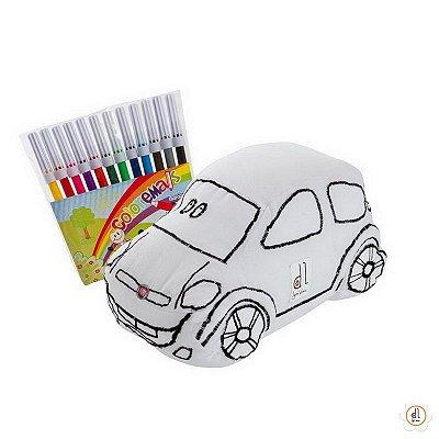 Boneco para pintar - Carro