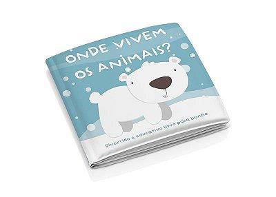 Livro de banho Animais