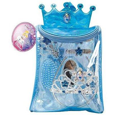 Kit Acessórios de Princesa com Bolsa - Cinderela
