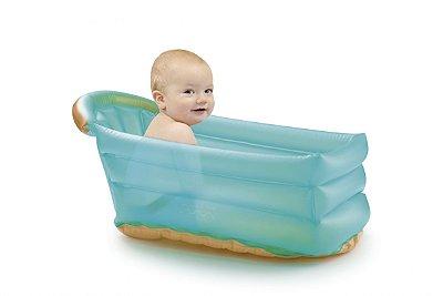 Banheira Inflável Bath Buddy Verde