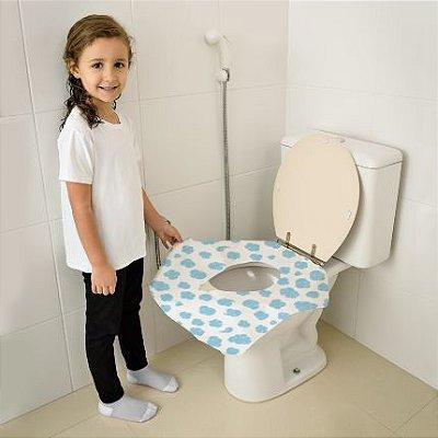 Protetor Descartavel para Vaso Sanitário - 12 Unidades