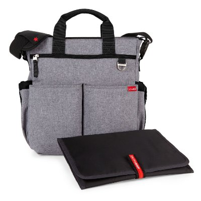 Bolsa Maternidade Skip Hop - Duo Signature Heather Grey