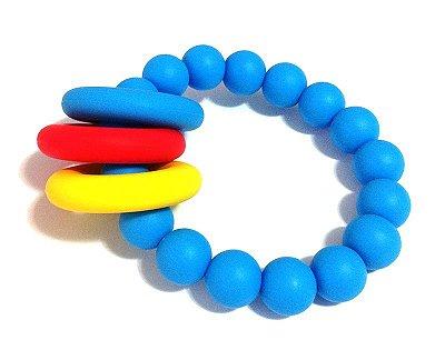 Mordedor Silicone BPA free Azul