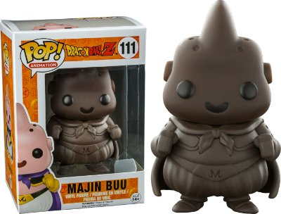 Funko Pop Dragon Ball Z Majin Buu Chocolate Brown Exclusive