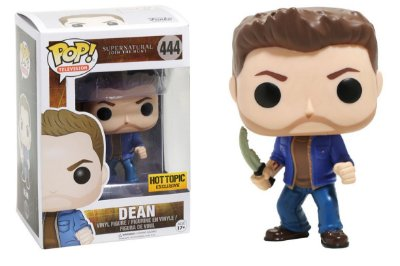 Funko Pop Supernatural Dean Hot Topic Exclusivo #444
