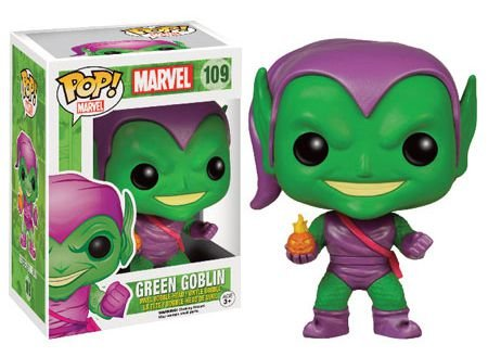 Funko Pop Marvel Green Globlin Wallgreens Exclusivo #109