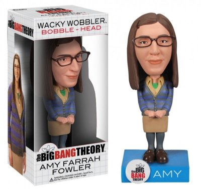 Funko Wacky Wobbler Bobble Head The Big Bang Theory Amy Farrah Fowler