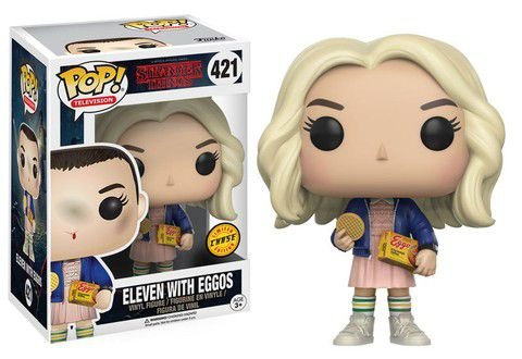 Funko Pop Stranger Things Eleven With Eggos Exclusivo Chase #421