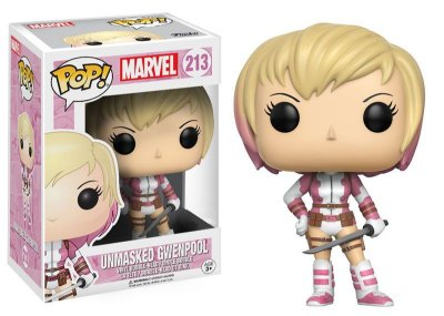 Funko Pop Marvel Unmasked Gwenpool Exclusivo #213