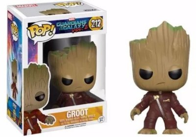 Funko Pop Marvel Guardiões da Galáxia Groot Exclusivo #212