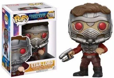 Funko Pop Marvel Guardiões Da Galaxia Vol 2 Star Lord #209