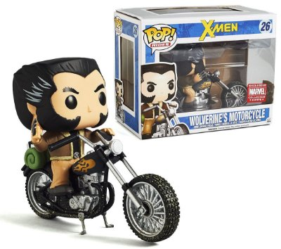 Funko Pop Rides Wolverine's Motorcycle Exclusivo Collector Corps