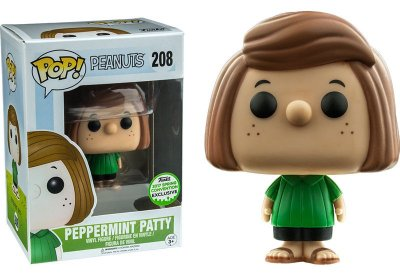 Funko Pop Peanuts Peppermint Patty Exclusive Eccc 2017 #208