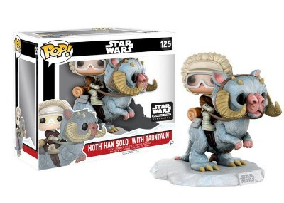 Funko Pop Star Wars Hot Han Solo with Tauntaun Smugglers Bounty Exclusivo #125