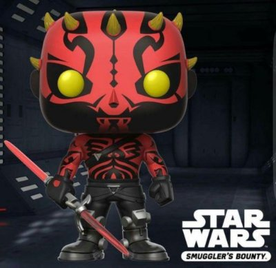 Funko Pop Star Wars Rebels Darth Maul Smuggler's Bounty Exclusivo #165