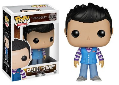 Funko Pop Supernatural Castiel Steve #304