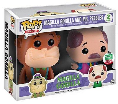 Funko Pop Magilla Gorilla and Mr Peebles Exclusivo