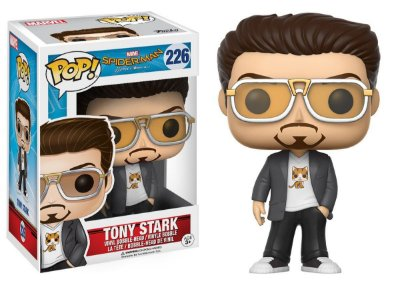 Funko Pop Spider-man Homem Aranha Homecoming Tony Stark #226