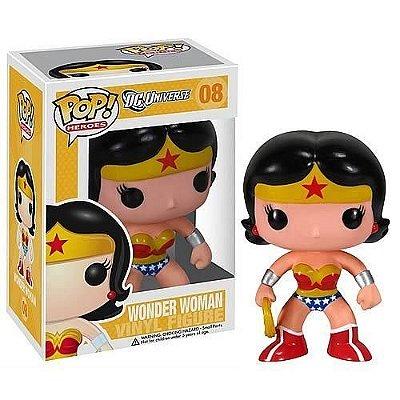 Funko Pop DC Mulher Maravilha