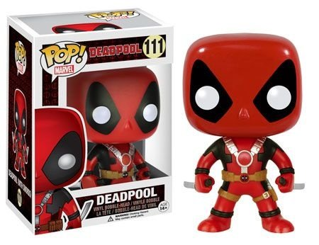 Funko Pop Deadpool Two Swords