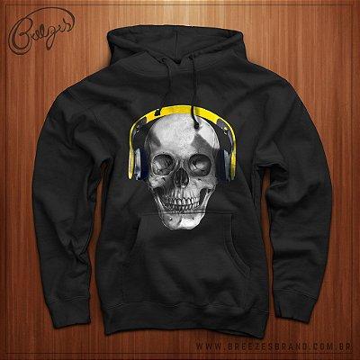 Moletom Skull DJ Unissex