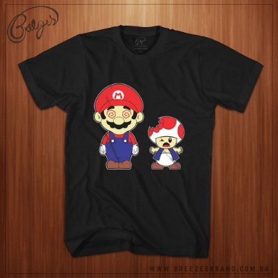 Camiseta Mario Psicodelico