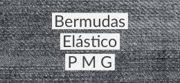 Bermudas Elástico P M G
