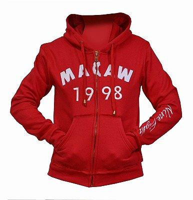 Blusa 3118 Moletom 1998 Feminina Vermelha