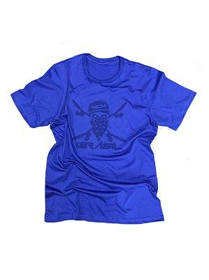 Camiseta Caveira 7427 100% algodão