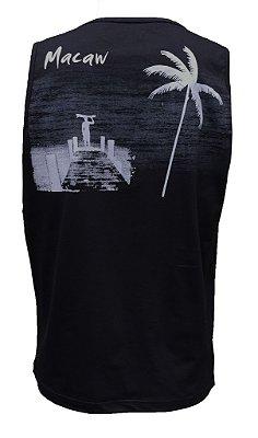 Camiseta 7383 Regata 100% algodão (tamanho grande)