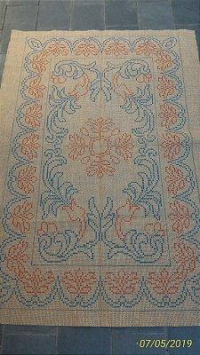 Juta Riscada para tapete arabesco #05
