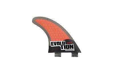 Quilha Modelo Evo Core Carbono - Tamanho Evo 3 - Vermelho.