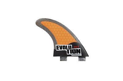 Quilha Modelo Evo Core Carbono - Tamanho Evo 3 - Laranja.