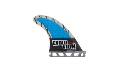 Quilha Modelo Evo Core Carbono - Tamanho Evo 3 - Azul - Single Tab.