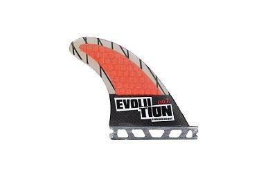 Quilha Modelo Evo Core Carbono - Tamanho Evo 3 - Vermelho  - Single Tab.