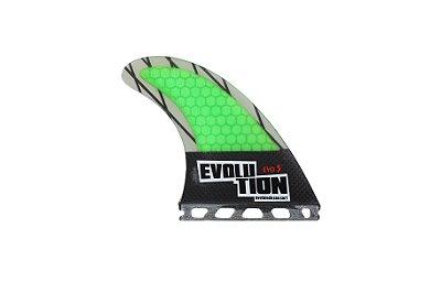 Quilha Modelo Evo Core Carbono - Tamanho Evo 5 -Verde - Single tab.