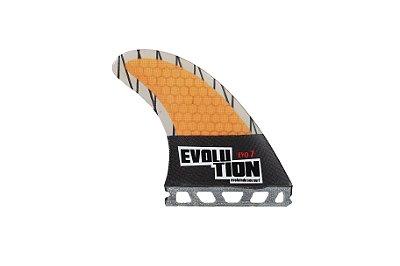 Quilha Modelo Evo Core Carbono - Tamanho Evo 7 - Laranja - Single tab.