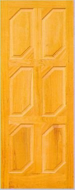 Porta de Madeira Maciça em Angelim Pedra - ref013