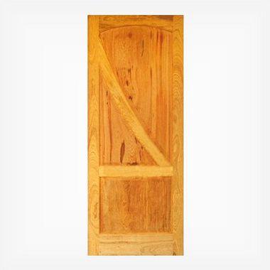 Porta de Madeira Maciça em Angelim Pedra - ref043