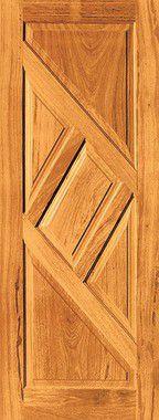 Porta de Madeira Maciça em Angelim Pedra - ref046