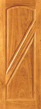 Porta de Madeira Maciça em Angelim Pedra - ref050