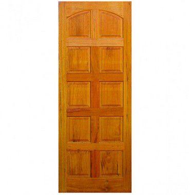 Porta de Madeira Maciça em Angelim Pedra - ref055